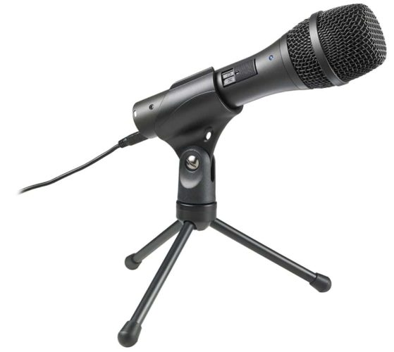 Audio-Technica AT2005USB Cardioid Dynamic Microphone
