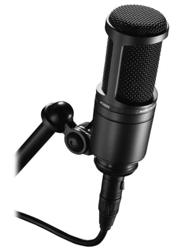 Audio-Technica AT2020 - Best Sound Quality