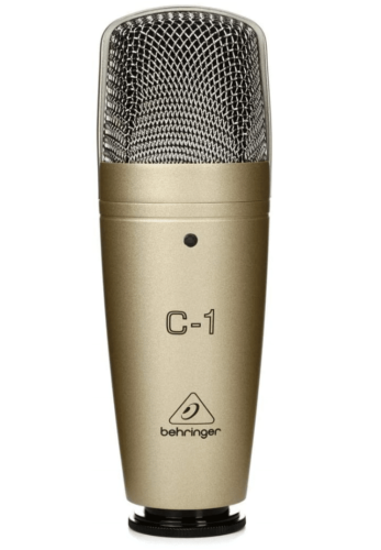 Behringer C-1 - Best For Solid Construction