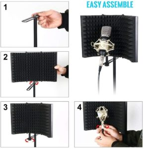 Houkiper Microphone Isolation Shield