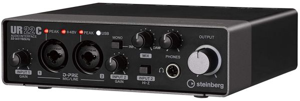 Steinberg UR22C USB Type-C Audio Interface
