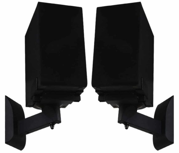 WALI Dual Side Clamping Wall Mount – Best Heavy-Duty Wall Mount Speaker