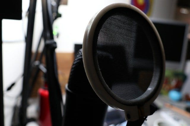 Try A Pop Filter For Studios Use
