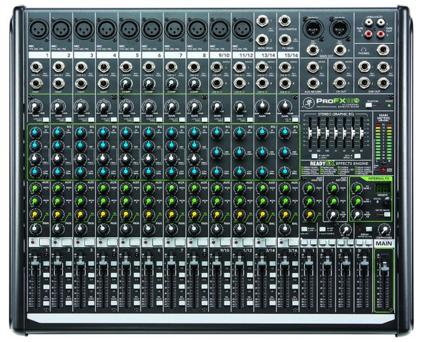Mackie Mixer - Unpowered, 16 Channel