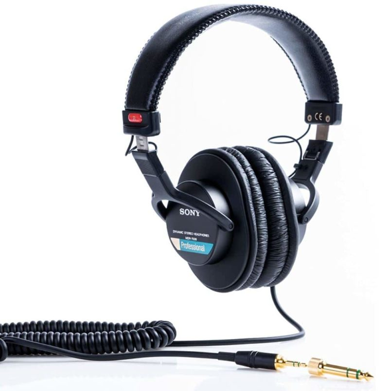 Sony MDR7506 Closed-Back Headphones