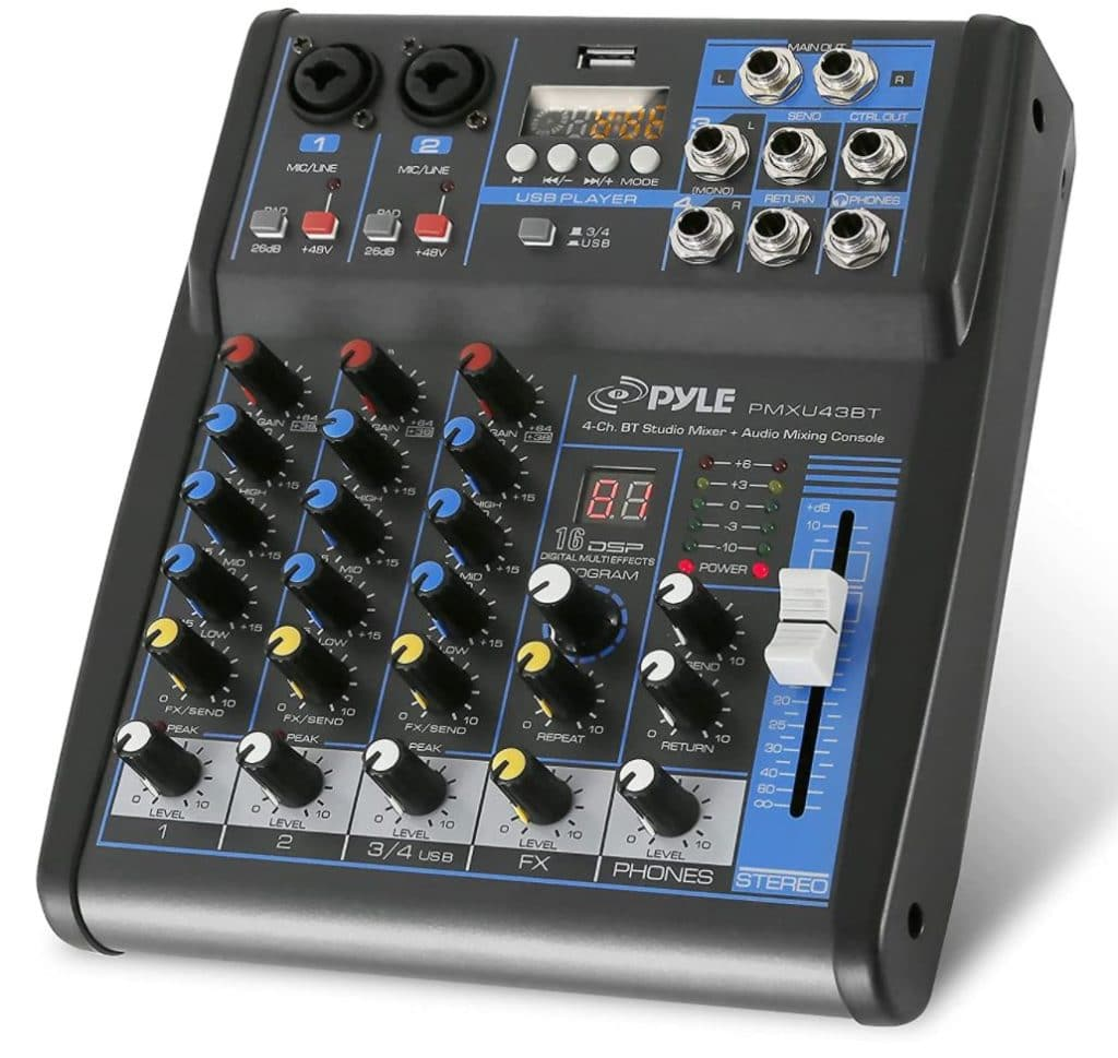 What Is Phantom Power On A Mixer.